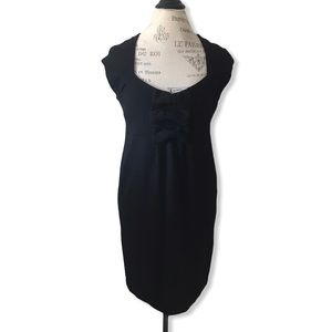 Black Triple Bow Dress by Kenneth Cole Reaction